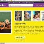 CherieDeVille Sign Up