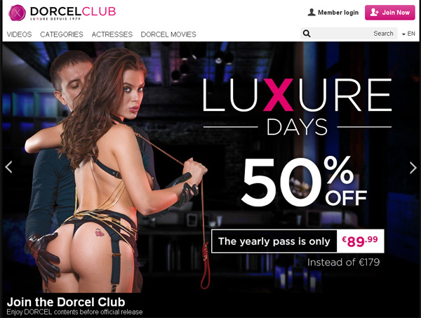 Dorcel Club Member Access