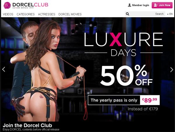 Dorcelclub.com Renew Membership
