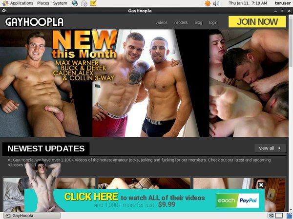 Joining Gayhoopla