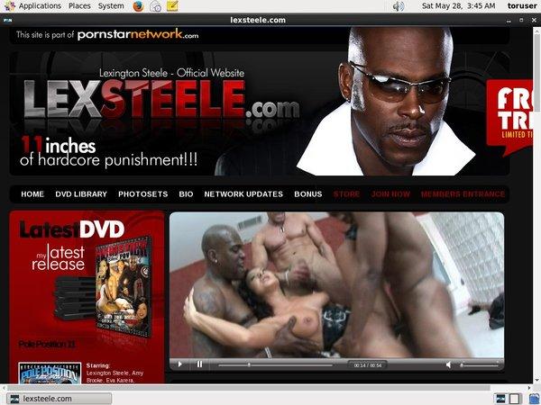 Lexsteele.com Official