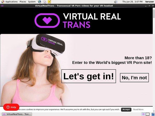 Virtualrealtrans Free Trial Memberships