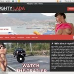 Naughty Lada Register