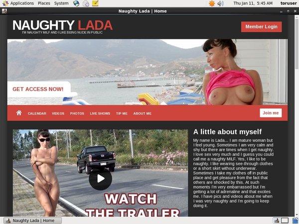 Naughty Lada Register