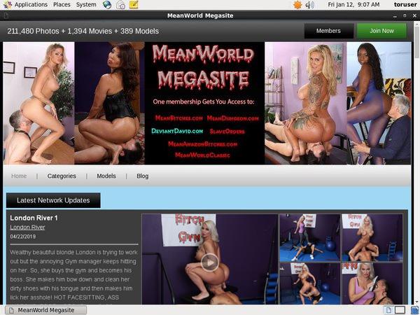 Free Mean World MegaSite Premium Login