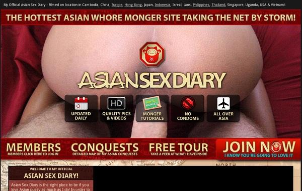 Asian Sex Diary Credit Card